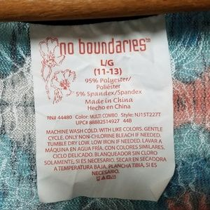 No Boundaries Tops - No Boundaries Southwest Print Sheer Tank Top